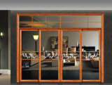 Guangzhou spéciales de conception personnalisée porte coulissante en aluminium
