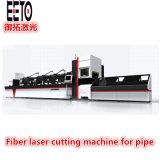 Tagliatrice del laser della fibra di CNC per il taglio /Drilling del tubo del metallo