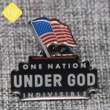 Distintivo su ordinazione della bandierina di paese di associazione dell'esercito del metallo