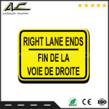 Aluminiumwarnzeichen-Verkehrssicherheit-Verkehrszeichen
