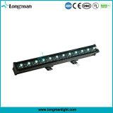 60X3w Rgbaw Epistar LED를 가진 옥외 세척 LED 벽 빛
