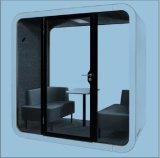 Металлические тип акустического офисного телефона стенд с звукоизолирующие панели