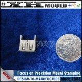 Soem kundenspezifisches Metall, das Kontaktbuchse für Steckerstift stempelnd locht