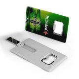 Des Bierflasche-Öffner-Karte USB-Blitz-Laufwerk-128MB Feder-Laufwerk Speicher-Stock-grellen der Karten-64GB 32GB 16GB