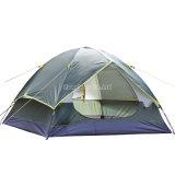 二重層のカスタムキャンプテント、浜のテントを現れなさい