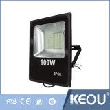 細いLEDのフラッドライト10W 20W 30W 50W 100W SMD2835チップ