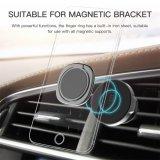Suporte magnético da mesa do suporte do telefone da placa de metal do carro do carrinho do anel de dedo