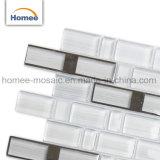 Stile semplice sulle mattonelle di mosaico di vetro viola della cucina decorativa di Backsplash di vendita