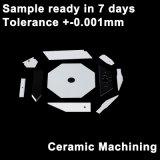 기계로 가공 지르코니아 세라믹 격판덮개, 세라믹 칩, 형 없는 중국에 있는 세라믹 플랜지