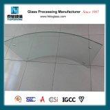 Vidro curvado Tempered para o vidro do edifício