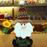 Jouets décoratifs de poupée de Noël de bureau de bureau de 10 pouces