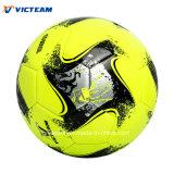 Яркий покрашенный шарик футбола сверла Имитационн-Кожи