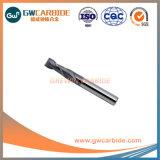 Altin, carbure de tungstène fin Mills, Tialn Tisin, revêtement de l'OCNA