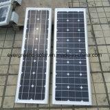 12V60W projeto de integração de todos em uma luz de Rua Solar