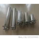 10 personalizzati singola custodia di filtro pieghettata dell'acqua della custodia di filtro da 20 pollici con il giunto circolare della guarnizione di PTFE