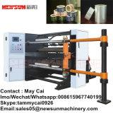 Alta máquina que raja del rodillo de papel que apresura con el motor servo