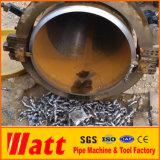 Corte frío y ventas directas 6-12inch del tubo portable de la fábrica de máquina que biselan