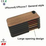 funda de teléfono móvil de madera de bambú para el iPhone 8 General El estilo de teléfono de bambú caso