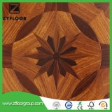 Carrelage stratifié imperméable à l'eau en bois de type neuf Enregistrer-Gravé en relief