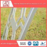 Лазерной резки Краска металлик алюминиевые перфорированные панели есть балкон/лестницы поручни/ Balustrade Infill панелей