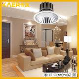 7W plafond encastré COB dirigée vers le bas la lumière d'éclairage LED
