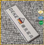 Plaque signalétique en aluminium repérée personnalisée de logo
