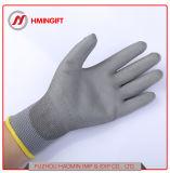 PU Non-Slip Wear-Resistant 층 노동 보호장갑 정전기 방지 먼지가 없는 전자 장갑