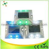 Luz de etiqueta de plástico solar del camino de los ojos de gato del precio de fábrica LED