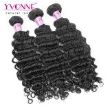 Capelli peruviani del Virgin dell'onda profonda dei capelli di Remy di prezzi all'ingrosso
