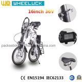 CER 16-Inch eine Sekunde elektrisches Fahrrad/Fahrrad faltend