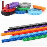 Полоса силикона преграждает строительные блоки кирпичей игрушки пояса модулей базовой платины DIY
