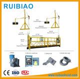 Piattaforma sospesa acciaio galvanizzata della lega di alluminio con la certificazione del Ce