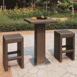 Tabouret de meubles en rotin de plein air Bar Set (TG-JW83)