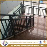 옥외 철 알루미늄 금속 층계 방책을 아래로 두드리십시오