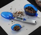 Colher de medição electrónica ajustável pesando escala colher Digital de cozinha