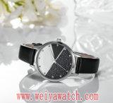 최신 판매 형식 OEM/ODM 석영 숙녀 손목 시계 (Wy-17020)