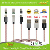 2017 de nieuwste 3FT Kabel van het Metaal USB voor iPhone