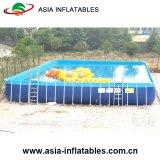 Châssis en acier de format personnalisé, châssis métallique de la piscine extérieure, piscine du châssis en acier