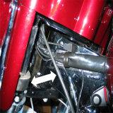 De hydraulische Lijn van de Koppeling voor Harley die 2014-2016 reizen