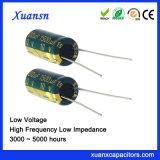 10V de Elektrolytische Condensator van het Aluminium van de Hoge Frequentie 1500UF