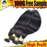 バルク毛の質の8A等級の人間の毛髪