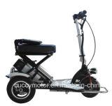 Batteria di litio piegante pieghevole 350W 3 elettrici motorino di mobilità delle tre rotelle (CCET-M1)