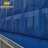 PVDF überzogenes Metallperforiertes Aluminiumfassade-Panel