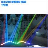 luz principal móvil del Gobo del punto de 120W LED