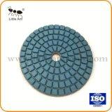 중국 3 인치 다이아몬드 수지 유대 지면 닦는 패드