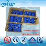 Batteria di ione di litio elettrica dello ione del Li del motorino dell'equilibrio