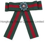Новый стиль горячей продавать Decotative ткань орнамент красочные элегантный Bowknot Brooch (E01)