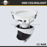 Adujustable Embeded 15W/24W/40W/50W LED 트렁크 옥수수 속 Downlight