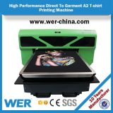 Het Ce- Certificaat A2 4880 leidt aan de Printer van de T-shirt van het Kledingstuk, de Machine van de Druk van de T-shirt