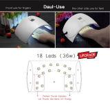 Lâmpada LED UV de unhas de gel Mini-secador
